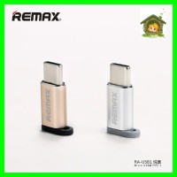REMAX OTG Connector Type C to Micro USB / Adapter Konektor