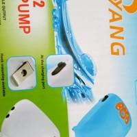 aquarium pompa udara air pump YANG YP 602 2 out put