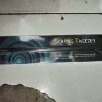 aquascape DYMAX pinset bengkok scaping tweezer