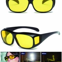 Kacamata Klip On night view/ HD Vision