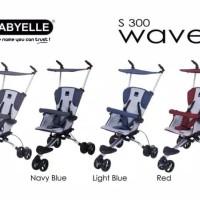 Stroler dorongan bayi / stroler baby elle + Tas stroler / posisi duduk