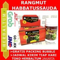 Rangmut Papua + Habbatussauda Kapsul -Kemasan Baru-