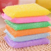 Spon Tapas Bantal / Sponge / Spons Cuci Piring Dapur (isi 5 pcs)