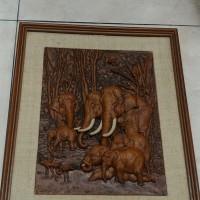 Lukisan 3D gajah