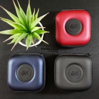 KZ PU Storage Box Case Bag Portable In Ear Earphone Headset ZSNZS3 ZST