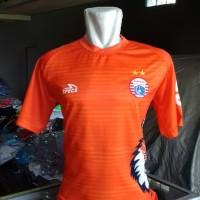 Baju Bola Jersey Latihan Persija Macan Orange Terbaru 2019 GO Lokal