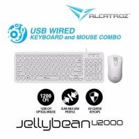 Keyboard Mouse Alcatroz Jellybean U2000 Garansi 1 Tahun Semarang