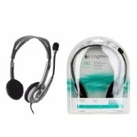 Headset Logitech H110 Stereo Garansi 1 Tahun Semarang