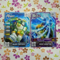 hero of robots set crystal black tortoise v2