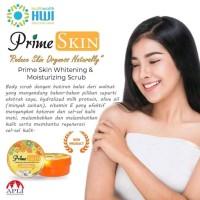 prime skin whitening body scrub