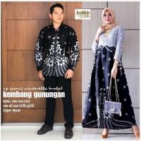 batik couple gamis mix brokat jumbo baju batik muslimah batik couple