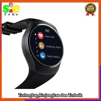 Jam Pintar Smart Watch Heart Rate Smartwatch K 18 Sim Android IOS