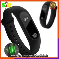Jam Pintat Smart Watch M2 Xiaomi Smartwatch Smart Mi Band 2 Jam Tangan