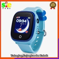 Jam Pintar Smart watch Anak GW 400X Camera GPS Blue SmartWatch for