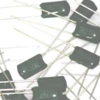 50 x 1500pF 0.0015uF 100V 5/% Mylar Film Capacitors