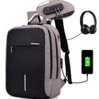 New Tas Ransel Backpack Pria Unik / Tas Laptop Anti Maling USB Anti