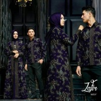 New Kado Pernikahan Baju Couple Pasangan Pesta Sarimbit Batik Gamis