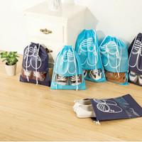 New Tempat Sepatu & Sandal / Tas Serut Sepatu / Travel Organizer