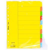 New Bantex Cardboard Divider A4 10 Pages 6050 | Pembatas Binder Bantex