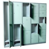 New Locker Besi 2 Pintu Lion / Loker Metal 2 Door L 552