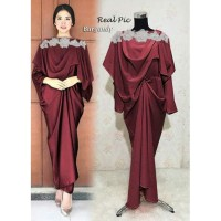 New Baju Dress Wanita Terbaru Pesta / Gaun Wanita Import Maxi Dress