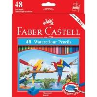 New Pensil Warna Faber Castell 48 Warna ( Watercolor ) - Per 12 Set