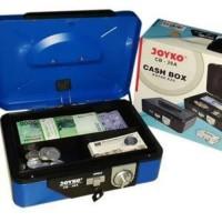 New Cashbox Joyko CB-26A Kunci Ganda 15,2 x 25 x 8,5 cm Tempat Uang