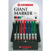 New Spidol Permanen Marker G-12 Snowman ( Per Lusin )