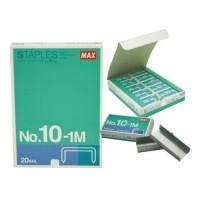 New Isi Stapler MAX Kecil HD-10 ( Isi 20 Kotak Kecil ) Staples No