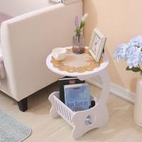 New Coffee Table / Meja Ngopi / Taplak Meja Bulat Bundar / Rak