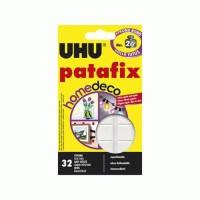 New Double Tape UHU Kuat Patafix Homedeco 2 Kg ( Busa Tebal ) - 72 Pcs