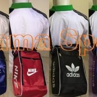 Tas Sepatu Futsal, Basket, Volly, Bola, Running Nike Adidas