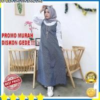 Baju Gamis Long Dress Wanita Muslimah Motif Gaya TRENDY HARGA