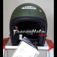 Terlaris Zeus Helm Zs385 Solid Zs-385 Import Zs 385 Retro Classic