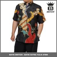 BATIK BRITIZH SUTRA / BATIK TULIS ONLINE PRIA PREMIUM