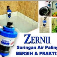 Termurah 1 Paket Filter Air Zernii, Plus 1 Refill Karbon Dan 1 Refill