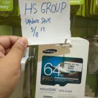 PROMO KARTU MEMORY SAMSUNG ORI 99% CLASS 10 64GB 64 GB MEMORY CARD MMC