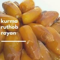 PREMIUM KURMA MATANG RUTHOB RAYYAN..JUICY, LEMBUT DAN MANIS