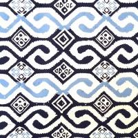 Batik Cap Biru Cantik
