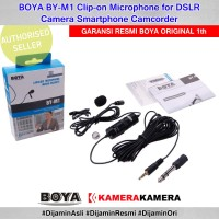 BOYA BY-M1, Lavalier Microphone for smartphones, DSLR, Camcorders