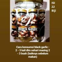 Black Garlic Fermentasi Bawang Putih Tunggal Isi 22 Biji - DM001