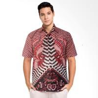 Kemeja Batik Pria Garuda Merah Seragam