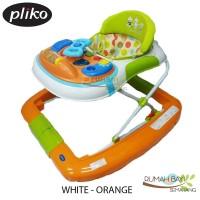 Pliko Baby Walker 3198T Hijau Orange