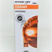Osram W5W T10 Orange Amber - Lampu Sein Sign Sen Motor