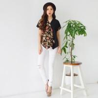 Jual Baju Batik Wanita Blouse Harga Terbaru 2019 Tokopedia