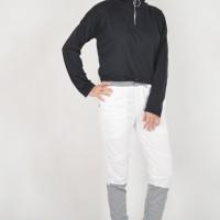 ROSE Okechuku Crop Sweater Kekinian Seleting Ring Fashion Wanita Murah