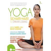 Buku Yoga Sehari-hari by Erikar Lebang Bonus DVD Tutorial Sehari Hari