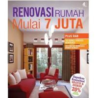 Buku RENOVASI RUMAH MULAI 7 JUTA plus RAB - Desain Renofasi Bangunan