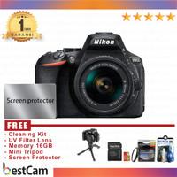 Nikon D5600 kit 18-55mm VR - Black - FREE Accessories