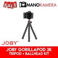 Joby GorillaPod 3K KIT ORIGINAL Ballhead For Mirrorless DSLR LED Mic